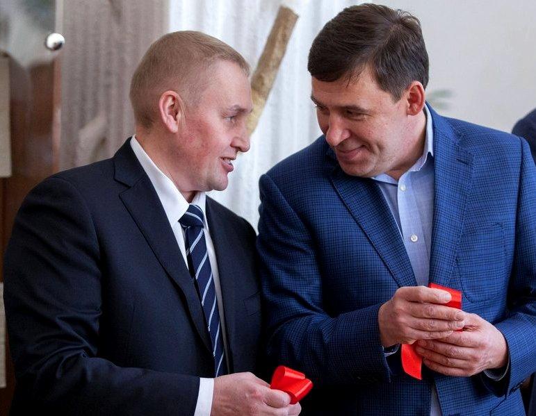 Альшевских гуляет в обнимку с губернатором Куйвашев