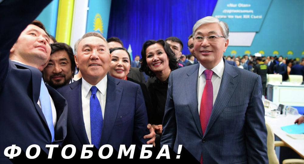 Бекболат Тлеухан и Назарбаев Нурсултан